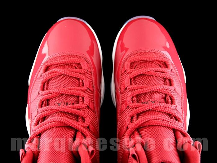 Red Air Jordan 11 2017