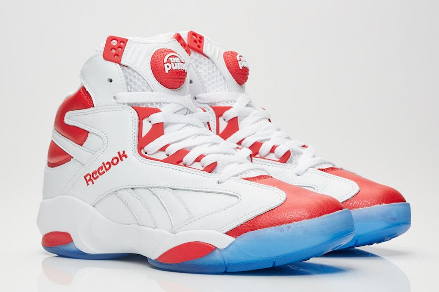 696b5c80814 Reebok Shaq Attaq Question White Red Release Date