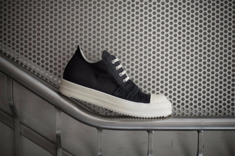 Rick Owens DRKSHDW Draped Low Sneakers