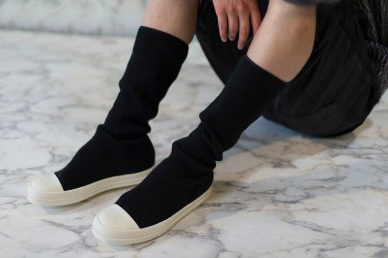 Rick Owens DRKSHDW Knit Sock Sneakers