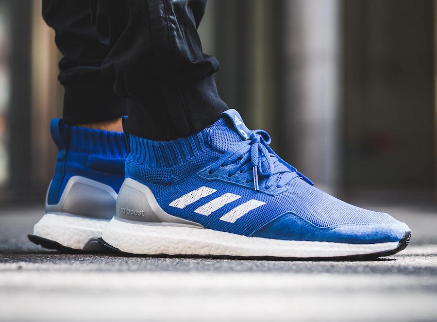 Run Thru Time adidas Ultra Boost Mid On Feet