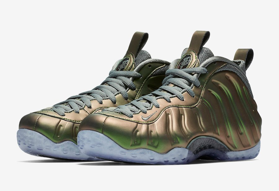 Shine Nike Foamposite One Womens AA3963-001