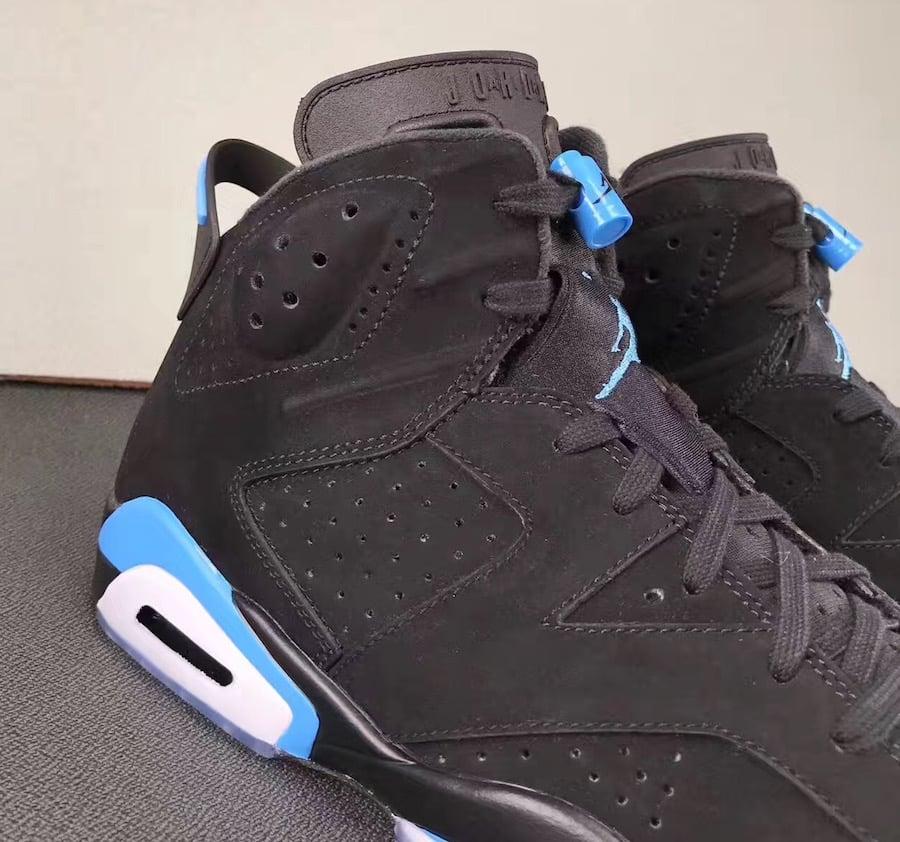 Air Jordan 6 UNC Black University Blue 384664-006 Release Date ... f817a46f1b