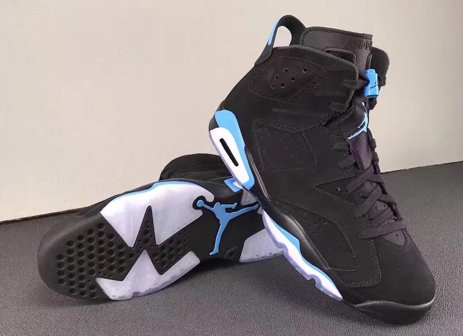 UNC Air Jordan 6 University Blue