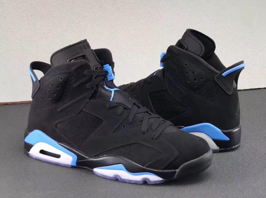 University Blue Air Jordan 6