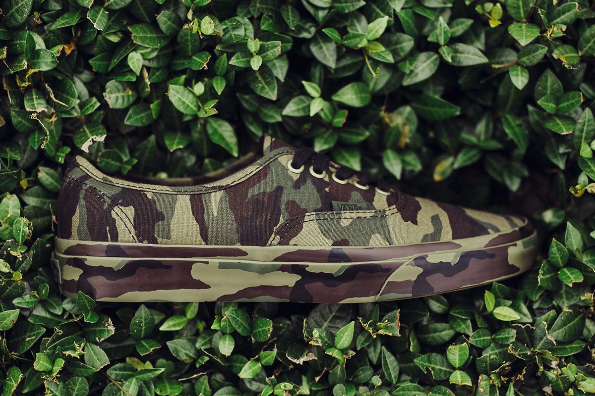 Vans Authentic Mono Camo Camouflage