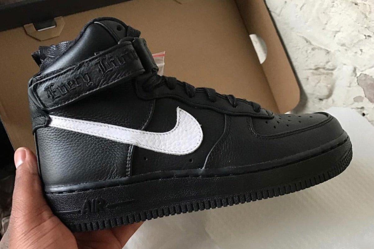 f0e9c85cc01 VLONE Nike Air Force 1 High London Exclusive ...