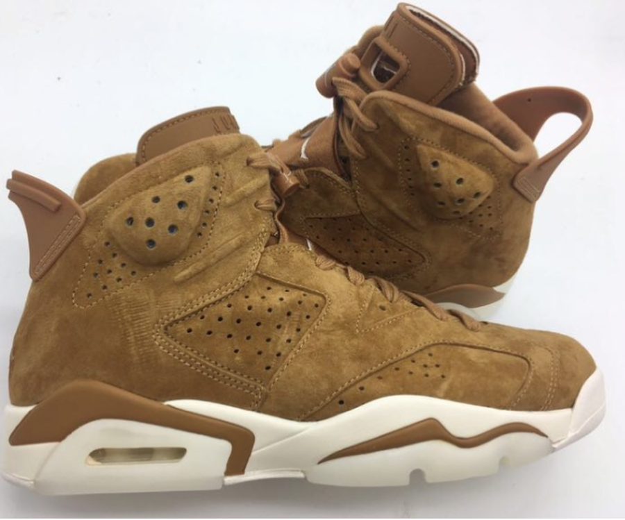 Wheat Air Jordan 6 Golden Harvest
