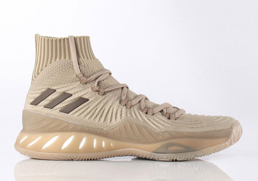 finest selection fed29 a18f2 adidas Crazy Explosive 2017 Primeknit Trace Khaki
