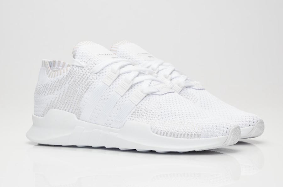 competitive price f812b 121a3 adidas EQT Support ADV Primeknit Triple White BY9391 ...