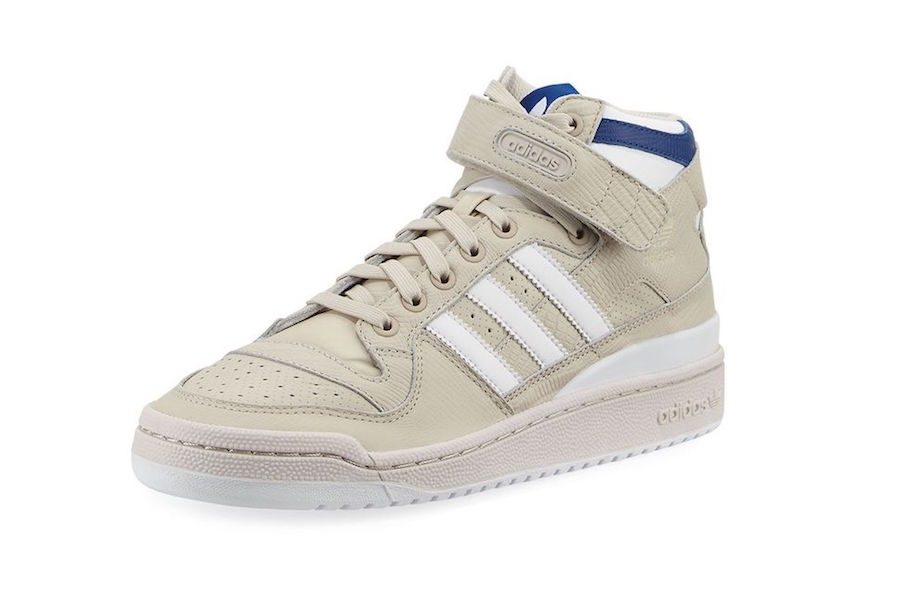 adidas Forum Leather Mid Top Beige
