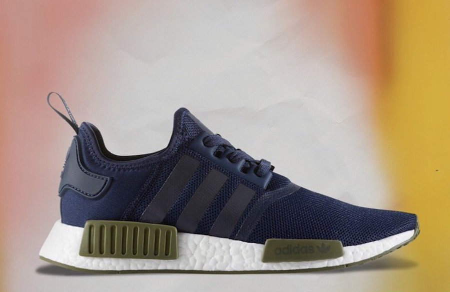 new product dcf5b 0b47c adidas NMD Collegiate Navy Olive
