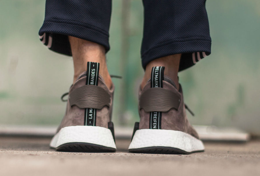 6b89d87c55b61 adidas NMD CS2 Brown Suede BY9913 Release Date