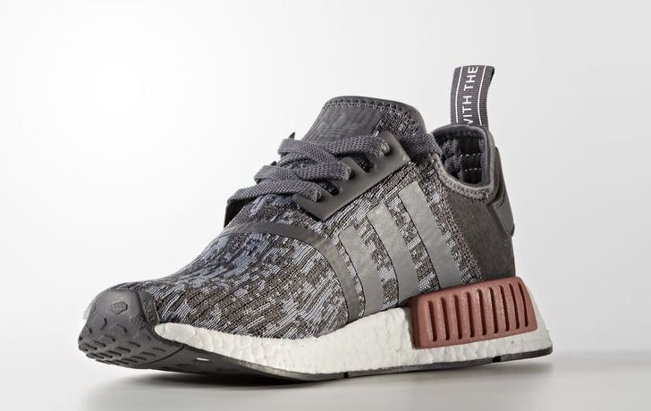 adidas NMD R1 Heather Grey Raw Pink Release Date