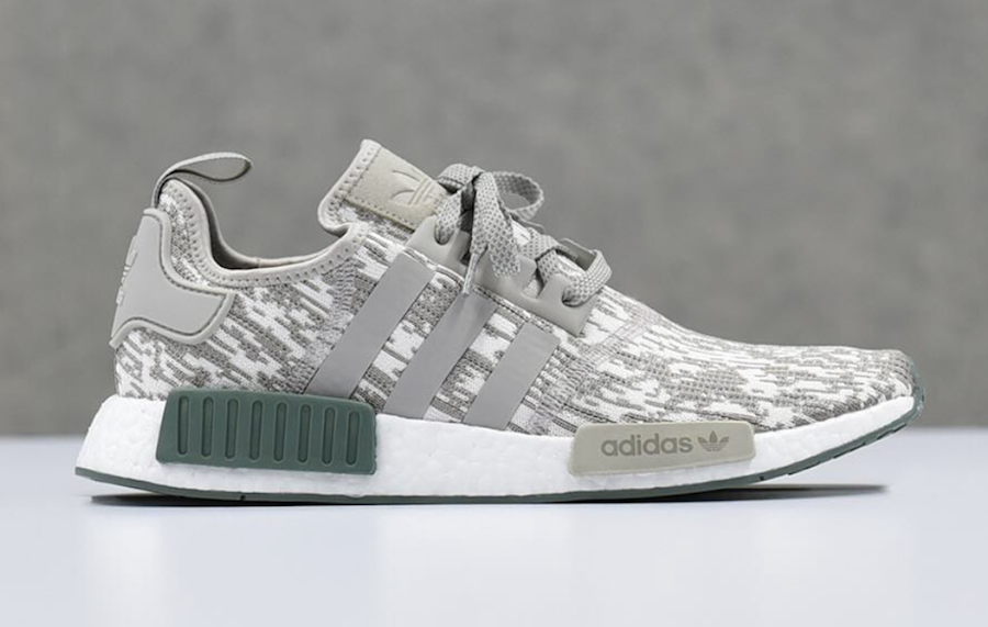 064cc29cadb7 Adidas originals Nmd R1 Primeknit  color Static  in White for Men Lyst