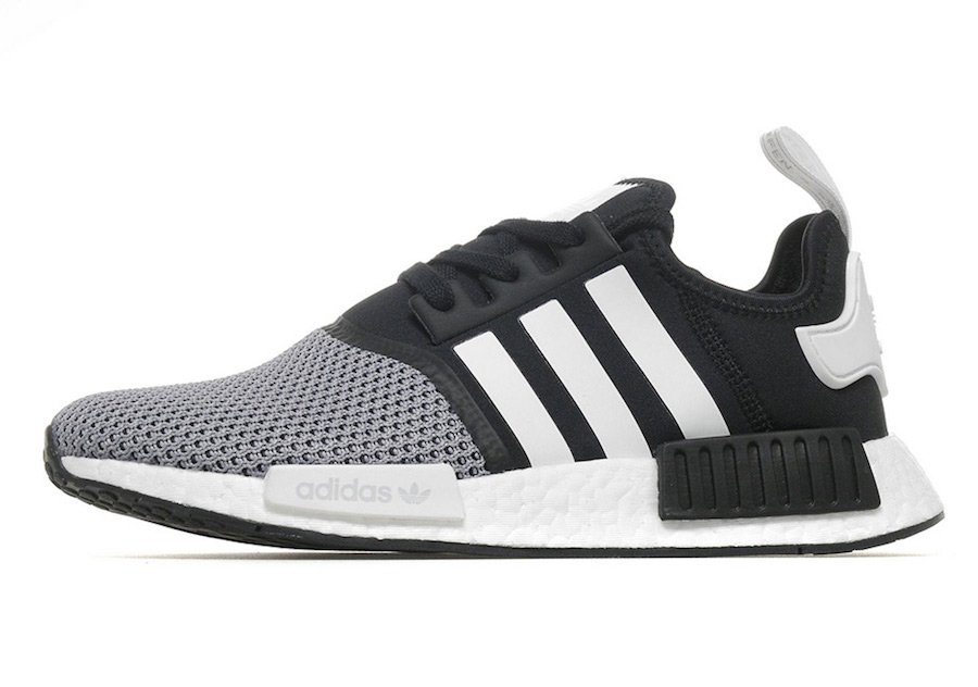 Adidas Nmd R1 White Black Jd Sports Sneakerfiles