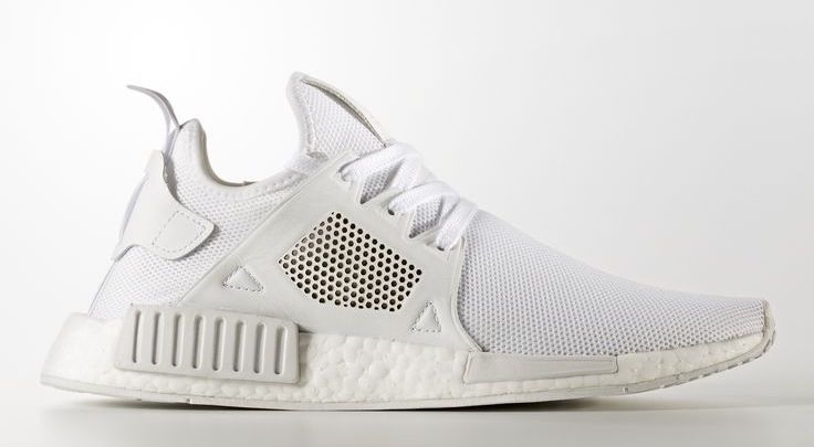 adidas NMD XR1 Triple White Leather Release Date