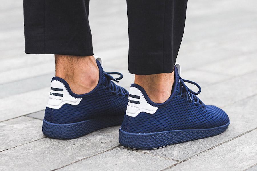 adidas Tennis Hu Navy BY8719 On Feet