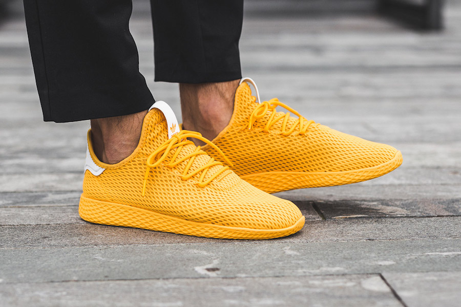adidas Tennis Hu Yellow CP9667 On Feet