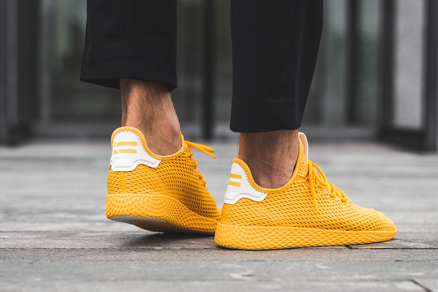 adidas Tennis Hu Yellow CP9667 On Feet