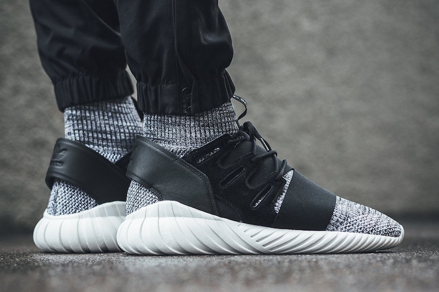 adidas Tubular Doom Primeknit Core Black White