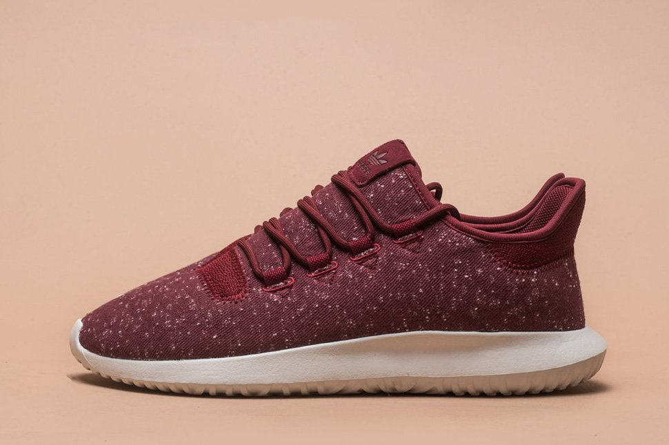 adidas Tubular Shadow Burgundy