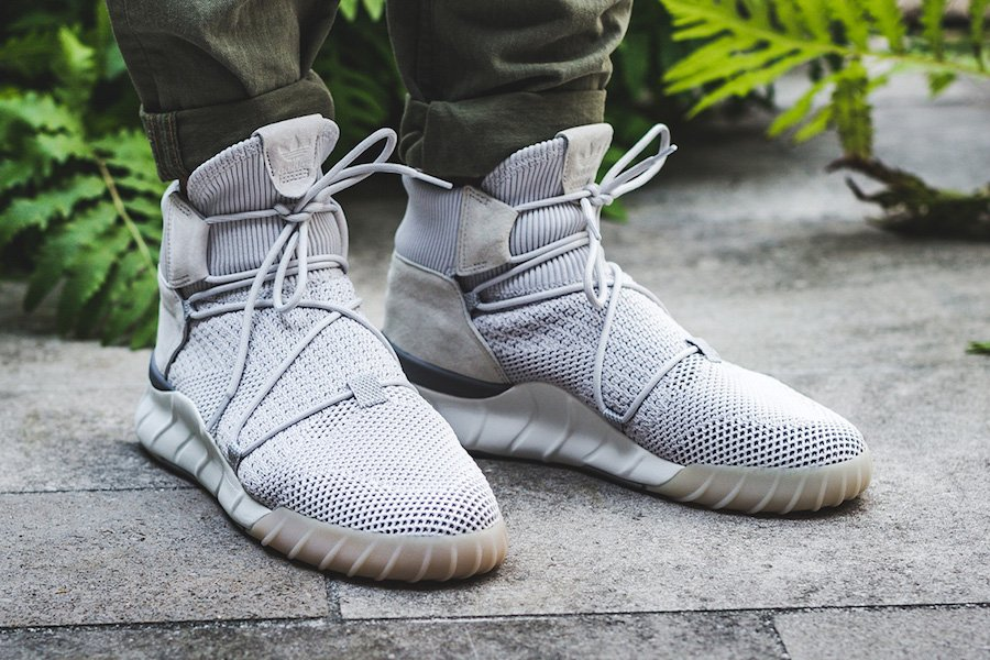 Adidas Originals Tubular X 2.0 Pk Sneakers in Gray for Men Lyst