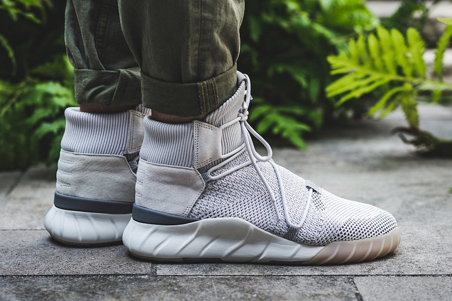 adidas Originals TUBULAR X High top trainers solid grey/utility