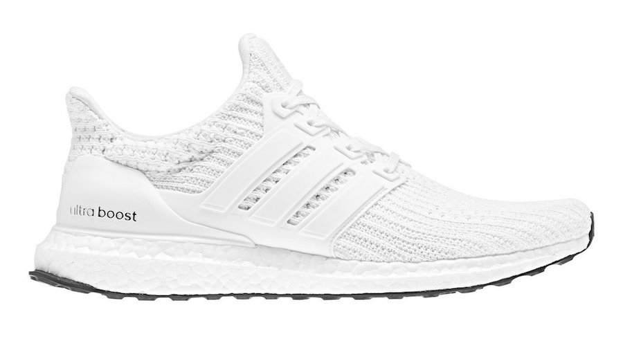sports shoes 96f8a 93eba adidas Ultra Boost 4.0 White Black