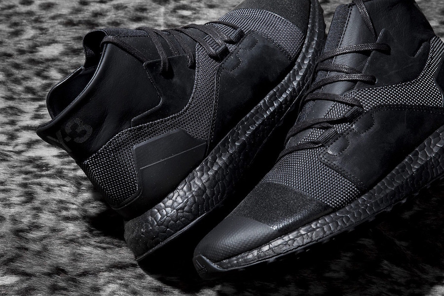 adidas Y-3 Kozoko High Triple Black