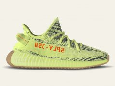 adidas Yeezy Boost 350 V2 Semi Frozen Yellow Gum Soles