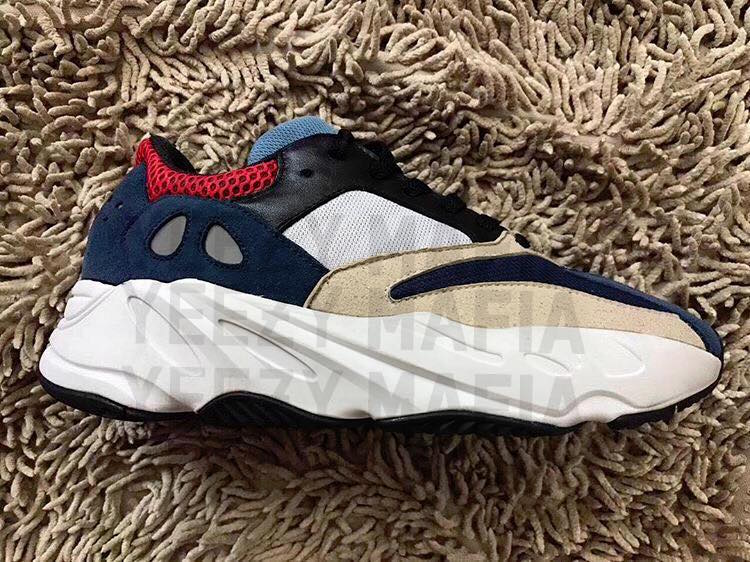 adidas Yeezy Boost Wave Runner 700 Navy Cream BasketFiles