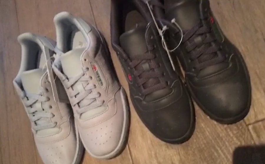 adidas Yeezy PowerPhase Triple Black Grey