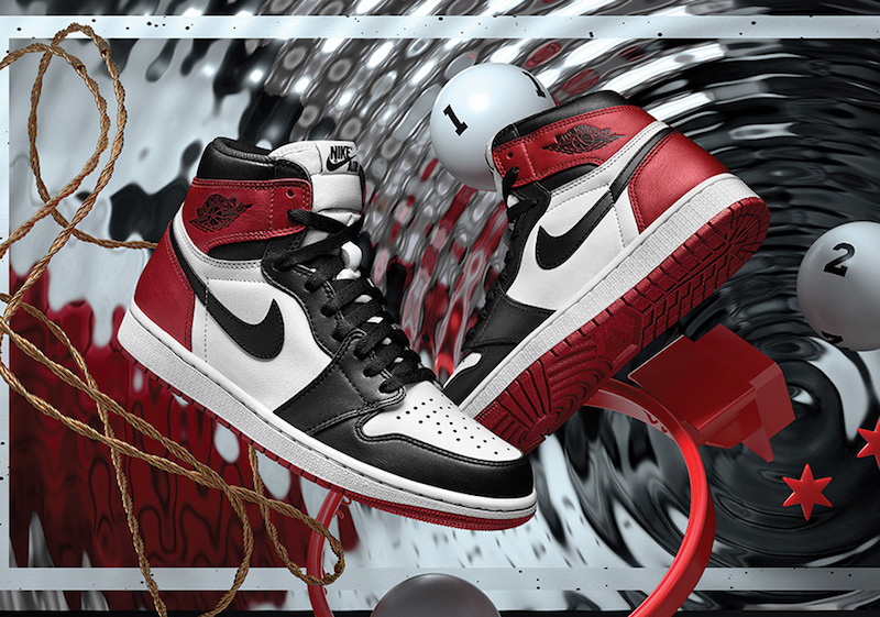 Air Jordan 1 Black Toe Restock