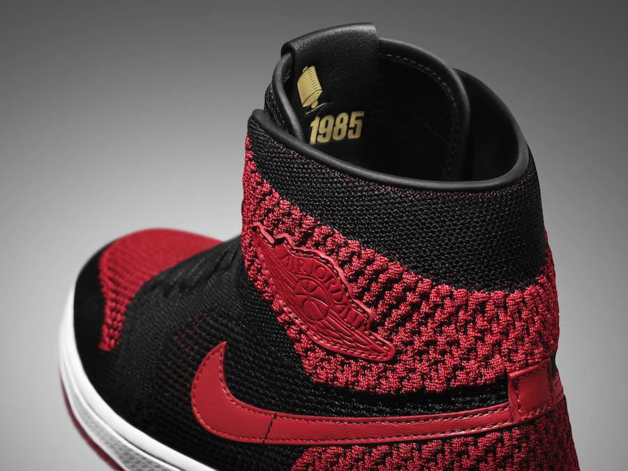 "56e48fa55910ce Air Jordan 1 High Flyknit ""Banned"" Black   Varsity Red – White Style Code   919704-001. Release Date  September 9"