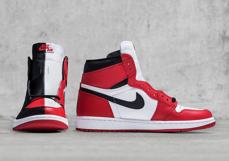 9f4667940b52 Air Jordan 1 Homage to Home Chicago Banned