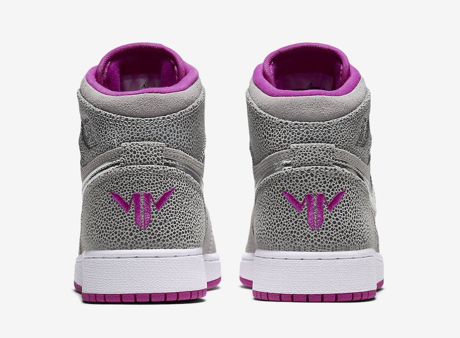 Air Jordan 1 Maya Moore Wolf Grey Fuchsia Flash