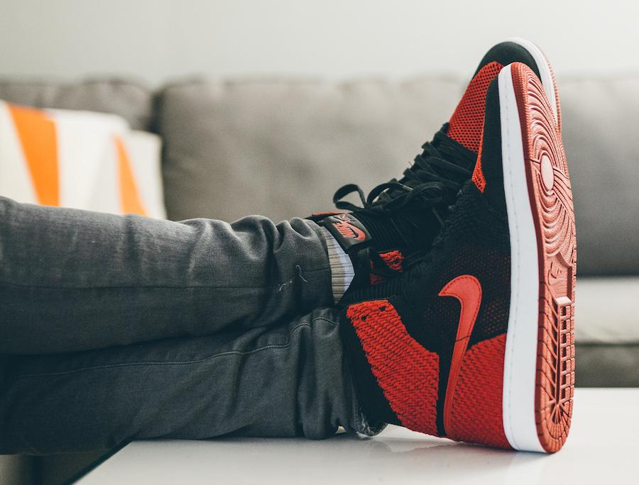 20b48ca90251 Air Jordan 1 Flyknit Banned Release Date