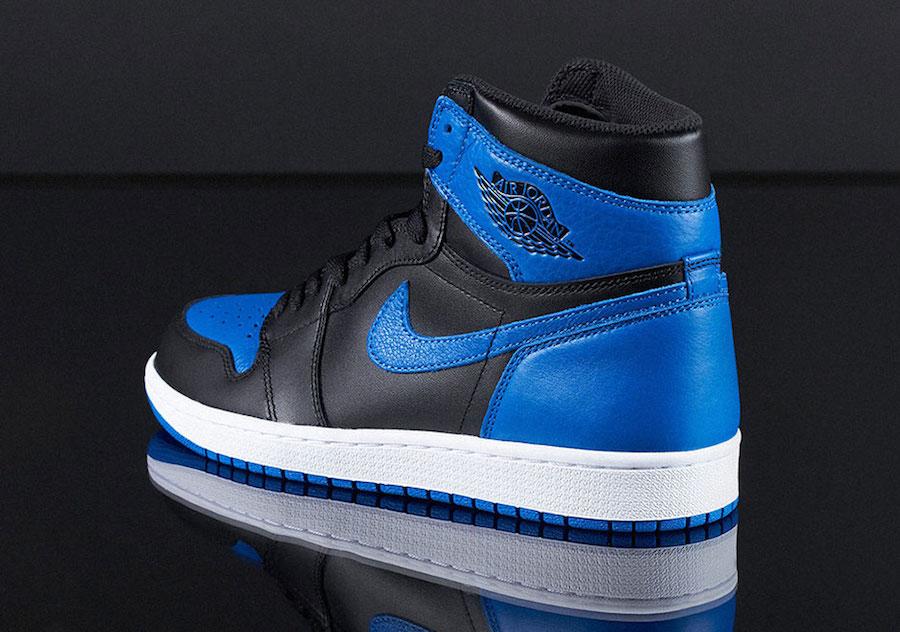 Air Jordan 1 Royal Nike SNEAKRS App Heat Wave Restock
