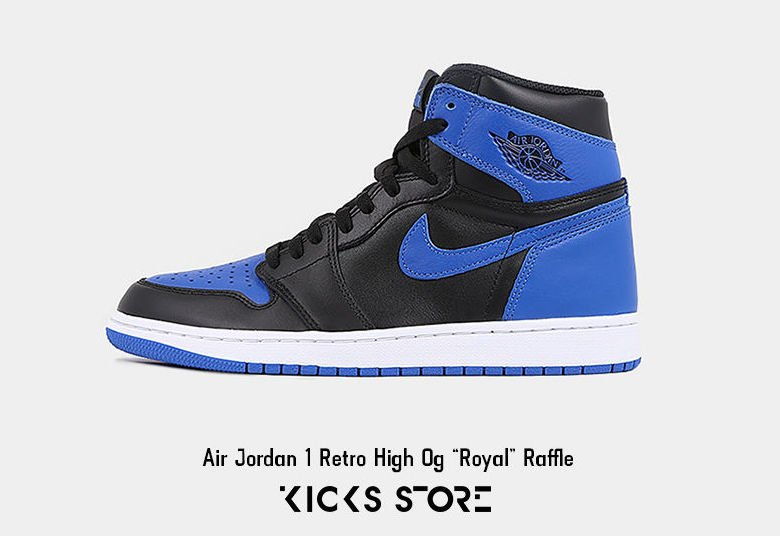Air Jordan 1 Royal Raffle Restock Kicks Store