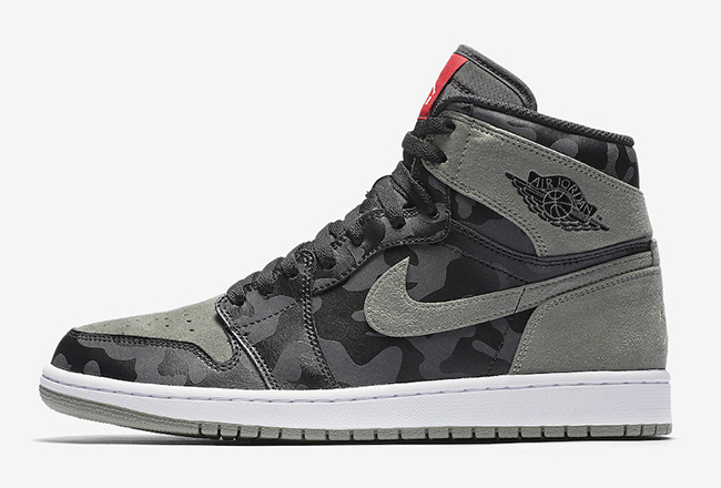 Air Jordan 1 Shadow Camo September 2017