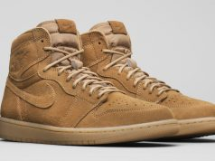 Air Jordan 1 Wheat Elemental Gold 555088-710