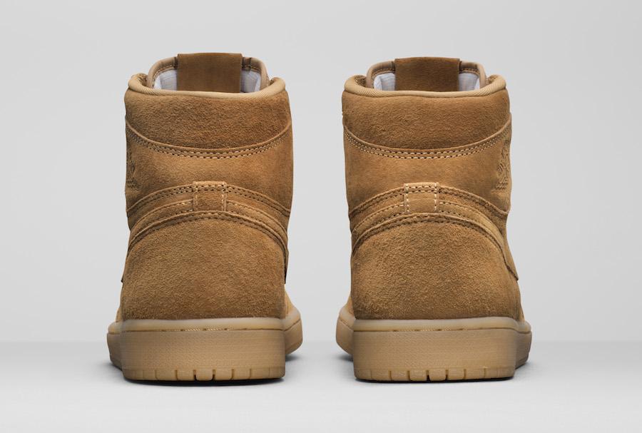 Air Jordan 1 Wheat Elemental Gold 555088-710