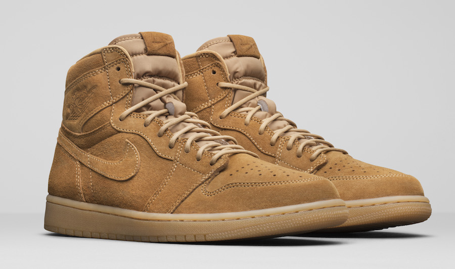 Jordan Brand Unveils the Air Jordan 1 Retro High OG 'Wheat'