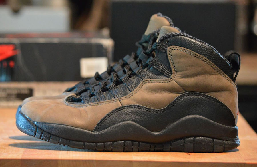 Air Jordan 10 Dark Shadow 2018 Release Date