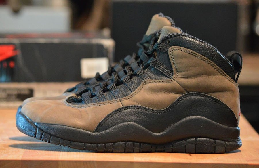 wholesale dealer ce3b6 0455f Air Jordan 10 Dark Shadow 310805-002 Release Date | SneakerFiles