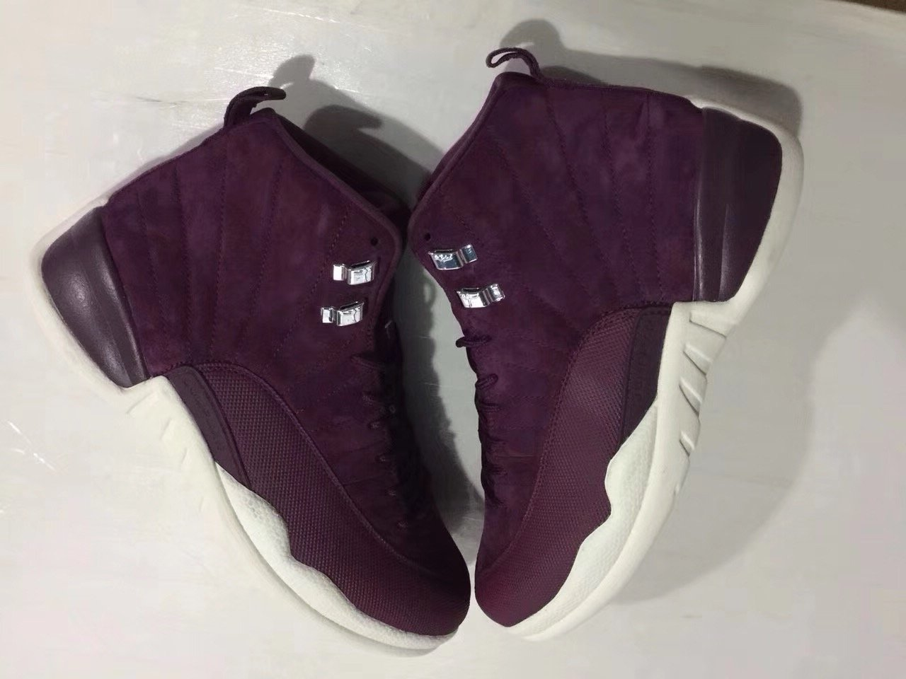 Air Jordan 12 Bordeaux Sail 130690-617