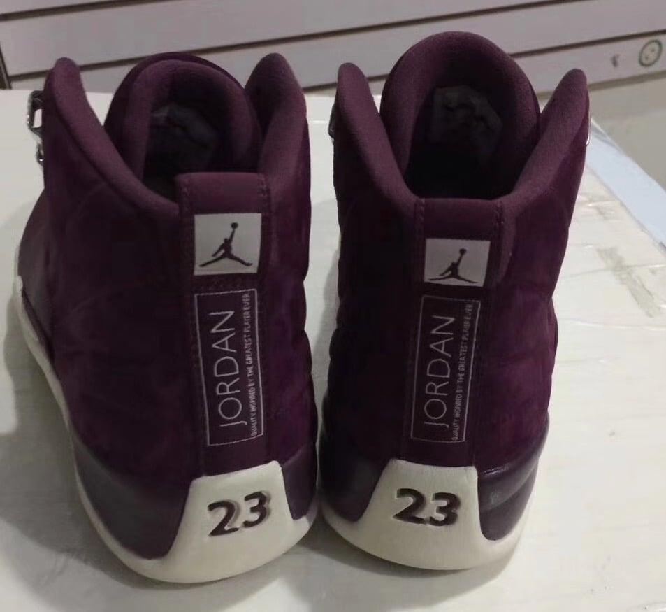 a3ade965d736 Air Jordan 12 Bordeaux 130690-617 Release Date