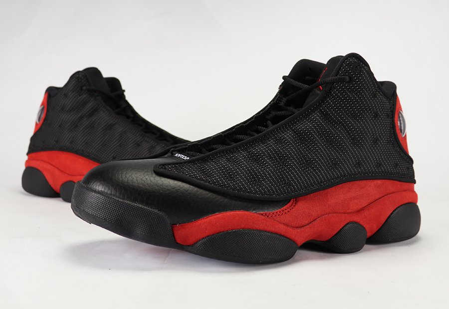 257a0ffc22d8a8 Air Jordan 13 Bred Black Red Retro 2017 Review On Feet