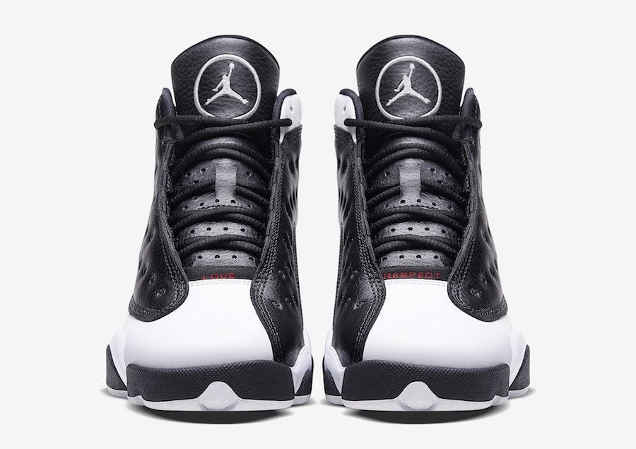 Air Jordan 13 Love Respect Black
